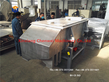 Square wood chip screen,abrasive linear vibrating screen