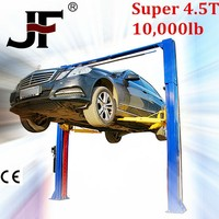 4.5T two post clear floor automotive shop equipment