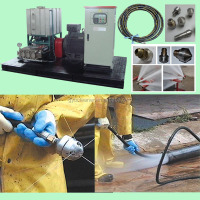 Hot Sale high pressure cleaning equipment drill stem pipe cleaning machine