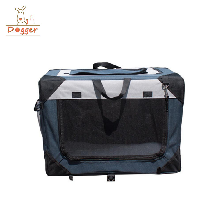 Outdoor Portable Pet Dog Pet Soft Crate Carrier Cage Kennel Free Carry folding cage