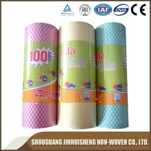 China Manufacturer chemical bond non woven/UK market All purpose cloth non-woven