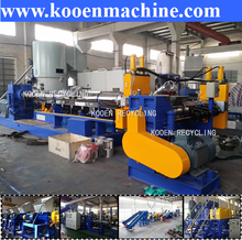 new style recycle plastic bag film granulation line for sale