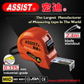 ASSIST brand steel tape measure with 3m 5m 7.5m 10m Nylon wrap flexible retractable steel tape measure