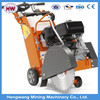 350mm concrete cutter for road construction site with petrol engine