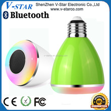 Bluetooth Smart Multicolored Led Night Light Bulbs/Timing System/Dimming & Turning On or Off by iPhone, Android App
