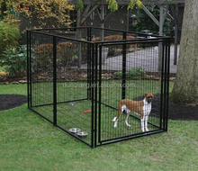 Quality Low Price PVC Coated steel dog kennel Dog Cage