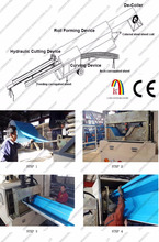 K Type Roof Machine Arch Construction For India