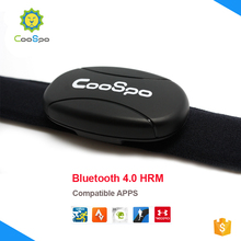 CooSpo 2016 BLE Heart Rate Monitor Strap Chest Belt for Wahoo MapMyRun Polar