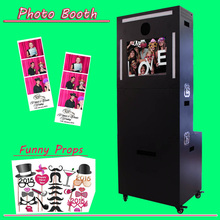 Portable Photo Booth Machine With Photo Editor Software