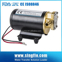 Singflo 14LPM 3.68GPM electric 12/24 volt diesel oil transfer pump/oil pump 12v electric