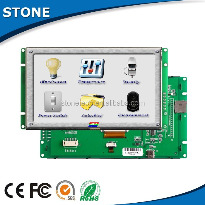 4.3 inch 480X272 display touch screen monitor for various industrial use
