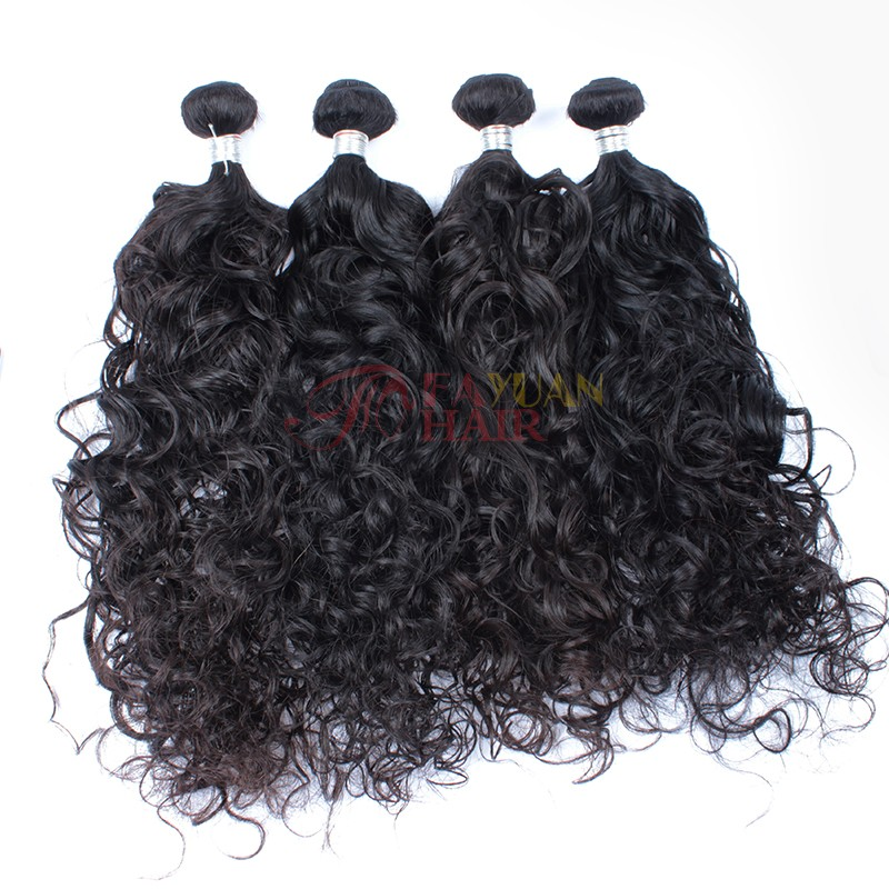 New coming Fayuan hair no mixed no synthetic no chemical processed Malaysian wave 100 human hair accept PayPal