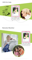 3G Senior android ID card child personal tracker sos phone with rfid tag
