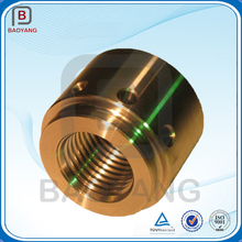 China Precision small cnc brass lathe turning machine mechanical parts