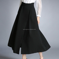 Wholesale black blending A-line women long dresses