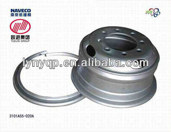 Wheel rim 3101A55-020A of Yuejin light truck parts