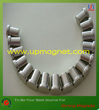 T shaped strong high powerful N50 super neodymium magnets mounted with plastic