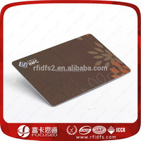 RFID blocking card to secure credit card