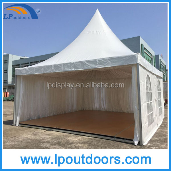 6x6m Outodor aluminum frame pagoda tent with flooring for wedding