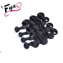 9A Hair Weave Weft With 4 Bundles in braiding Free Sample Fashion Style New premium Peruvian Virgin Human Remy hair