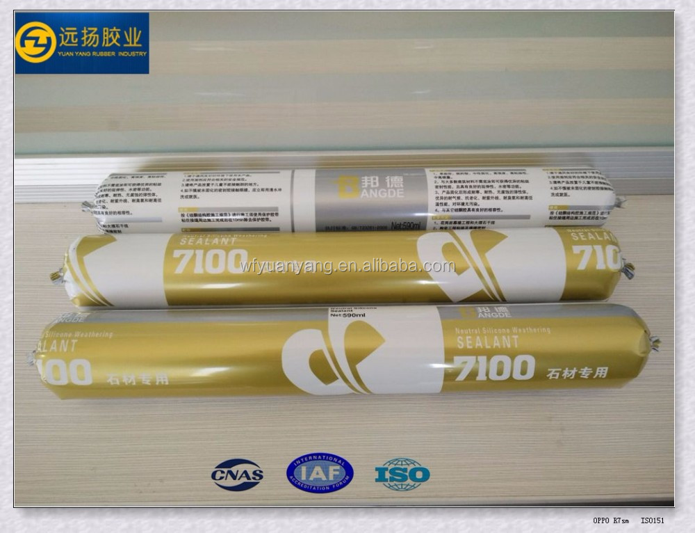 Ceramic And Rtv Neutral Stone Silicone Sealant For Building