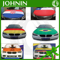 High Quanlity Engine Cover Custom Design Cheap Car Hood Flag