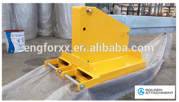 forklift attachment crane jibs tiliting and adjustable forklfit jibs