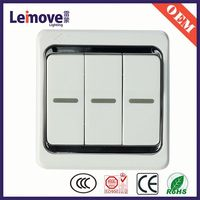 push button warning light switch