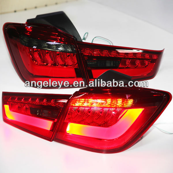 For Mitsubishi OUTLANDER SPORT ASX RVR LED Tail Light Rearlight Red Black Color 2012-2014 Year YZV1