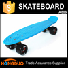 Bule deck black wheel mini cruiser skateboard