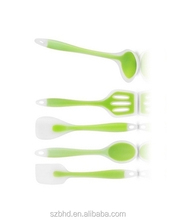 Premium Silicone Kitchen Utensils Set (5 Piece),colorful kitchen utensils set