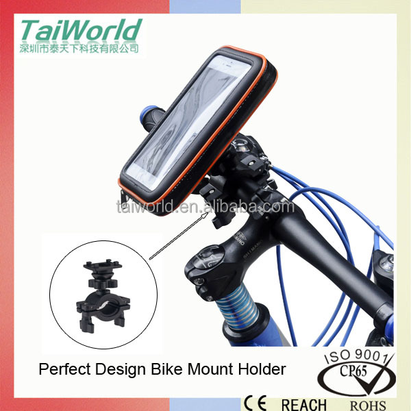 High Quality Universal Bike Holder Mount with Waterproof Bag Case
