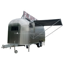 Huanmai Large Mobile Food Truck Outdoor Food Trailer