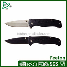 Stainless steel multi folding best hunting knife for camping