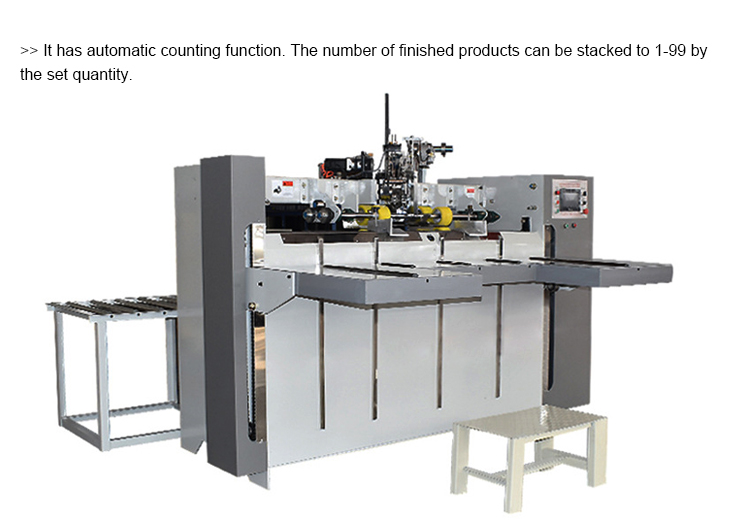 high speed corrugated carton box  stitching machine