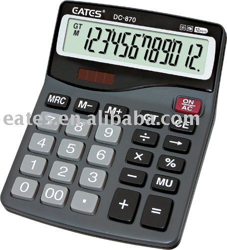 all purpose scientific calculator with solar power