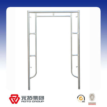 Bs1139 Galvanized scaffolding Frame/formwork systems