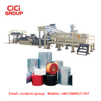 Plastic PET Sheet Extruding Machinery/Plastic Sheet Production Line