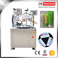Plastic Tube Filling And Sealing Machine For Hotels Shampoo And Lotion