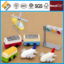 new design custom bus eraser for kids