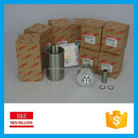 Engine Cylinder liner kit 4D84-2 for YANMAR low price genuine original quality piston+ring+cylinder liner+pin+clip