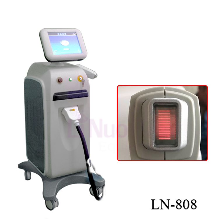 alexandrite soprano nono 808nm diode laser sensa light hair removal machine price