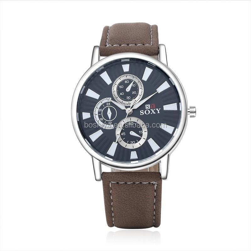 Cheap Price Casual Quartz Watches Fashion Leather Strap ...