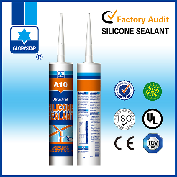 silicone acetic/density=1 silicone sealant/colorless silicone sealant