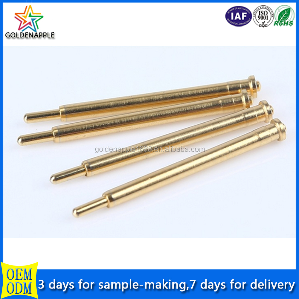 Electrical Plug Brass Contact Pin