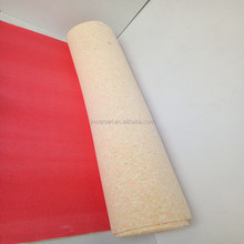 10mm PU foamed sponge carpet pad/carpet underlay