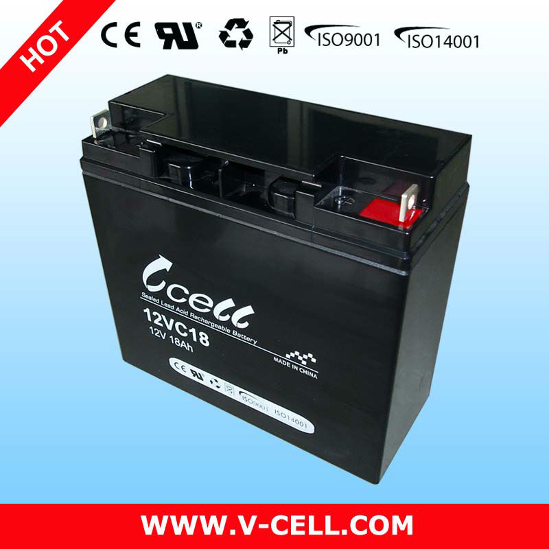 12V 18Ah dry batteries for ups