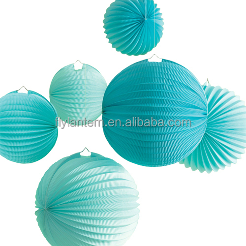 handicraft foldable hanging watermelon paper lantern