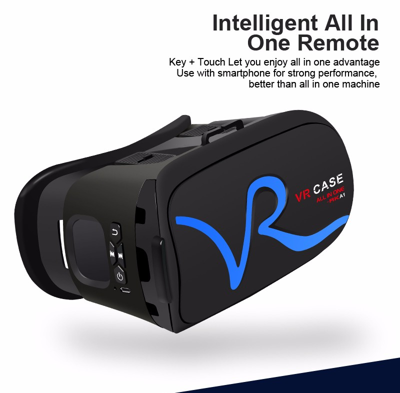 Vr Case RK-A1 Brand Best selling google vr headset 3d vr glasses