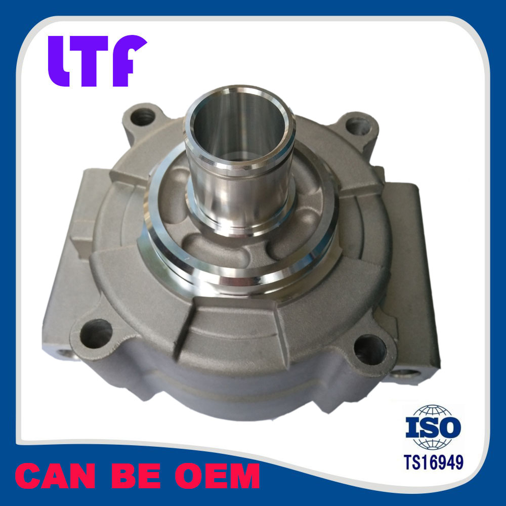 OEM Request Aluminum Mass Production CNC Machining Air Condition Compressor Auto Parts